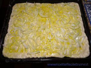 Focaccia con cipolle